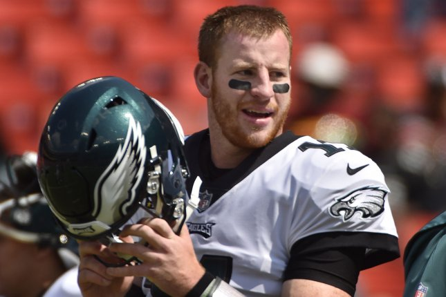 Fantasy Football Carson Wentz Is Eagles Week 3 Qb Upi Com