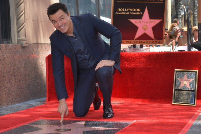 Actor Seth MacFarlane is returning for a third season of the Fox space comedy, The Orville. File Photo by Jim Ruymen/UPI
