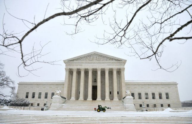 The Supreme Court denied North Carolina Gov. Patrick McCrory to delay a lower court's decision to redraw the state's congressional districts in advance of the state's House primary elections. The decision was one of the first made by the Court since the death of Justice Antonin Scalia and will postpone's the state's House elections from March 15 to June 7.  Photo by Kevin Dietsch/UPI