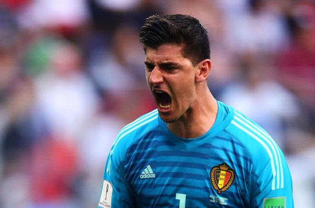 Image result for courtois crying real madrid