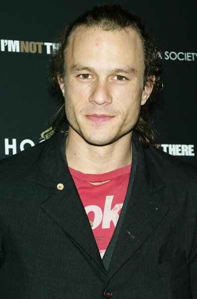 Australian actor Heath Ledger, seen in this November, 2007 file photo at the Chelsea West Theater in New York, died at the age of 28 on January 22, 2008. Ledger was found dead at a downtown Manhattan residence in a possible drug-related death, police said. (UPI Photo/Laura Cavanaugh/Files)