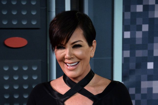Kris Jenner at the MTV Video Music Awards on August 30, 2015. The reality star addressed Kanye West's Twitter rants on a new episode of The Ellen DeGeneres Show. File Photo by Jim Ruymen/UPI