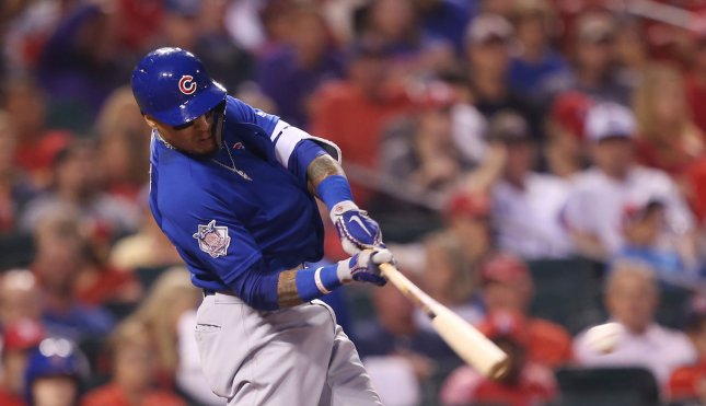 Javier Baez and the Chicago Cubs face the Milwaukee Brewers on Tuesday. Photo by Bill Greenblatt/UPI
