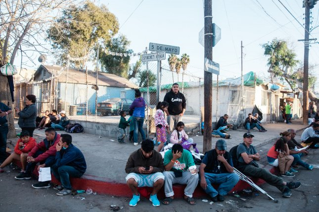 Five U.S. journalists said they were illegally detained and interrogated on attempting to re-enter the United States after covering the migrant caravan that was moving towards the U.S-Mexico border last winter. Photo by Ariana Drehsler/UPI