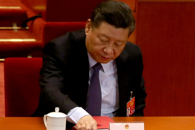 Chinese President Xi Jinping has kept a low profile amid the coronavirus pandemic but has hailed his country's response as a major strategic achievement. File Photo by Stephen Shaver/UPI