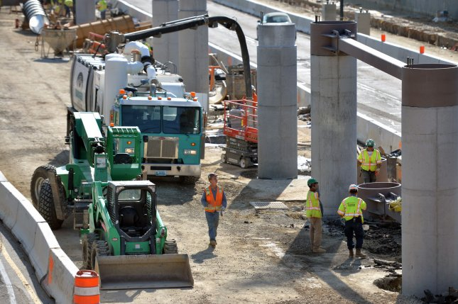 The bipartisan infrastructure bill focuses mostly on brick-and-mortar projects such as road construction, while most Democrats prefer greater spending to also address things like climate change and childcare. File Photo by Kevin Dietsch