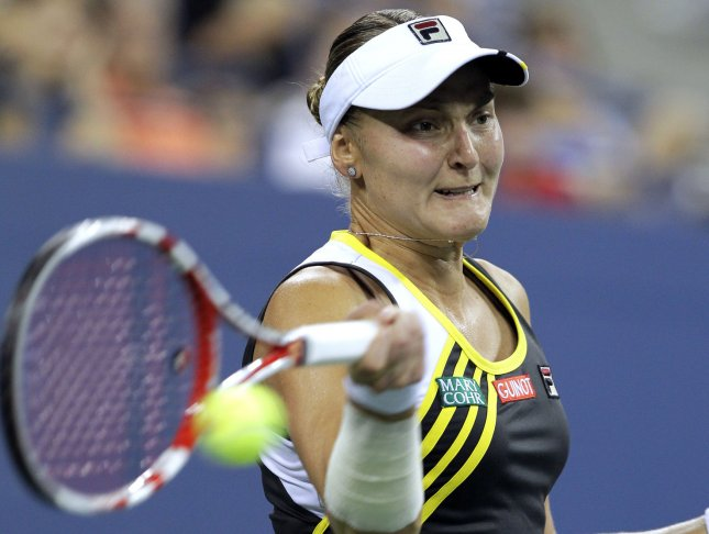 Nadia Petrova, shown in a 2012 file photo, was among first-round winners Tuesday at the WTA's Porsche Tennis Grand Prix in Germany. UPI/John Angelillo