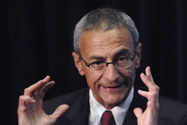 On his last day as senior White House advisor, John Podesta tweeted he regrets he never secured the #disclosure of the UFO files. Photo by Phil McCarten/UPI