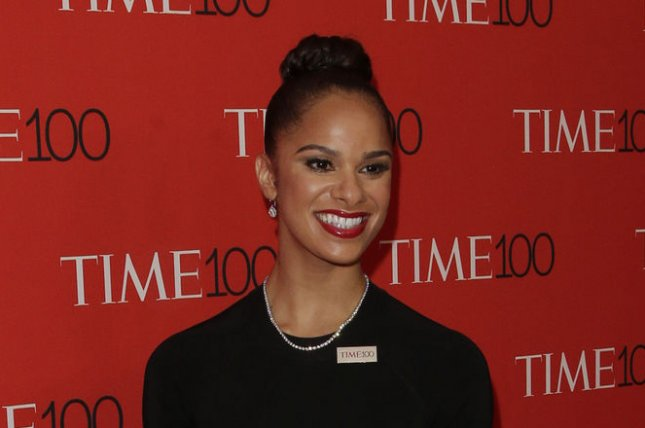 Misty Copeland at the TIME 100 gala on April 21, 2015. The ballerina will make her Broadway debut in 'On the Town' in August. File photo by John Angelillo/UPI