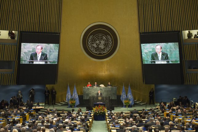 The top U.N. commissioner on human rights said North Korea human rights violations have been analyzed in detail, and the regime is to be asked to answer for its crimes. UN Photo by Rick Bajornas/UPI
