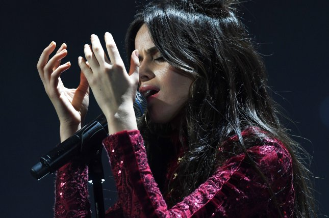Recording artist Camila Cabello of Fifth Harmony left the group after their performance and performed with Machine Gun Kelly at the Y100 JingleBall 2016 concert at the BB&T Center on December 18, 2016 in Sunrise, Florida. Cabello is to be a presenter at Sunday's Grammys ceremony. File Photo by Gary I Rothstein/UPI
