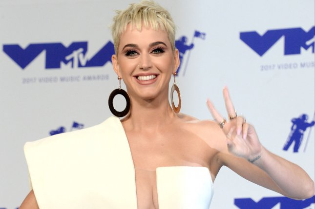 Katy Perry has released a new music video for her song Hey Hey Hey. File Photo by Jim Ruymen/UPI