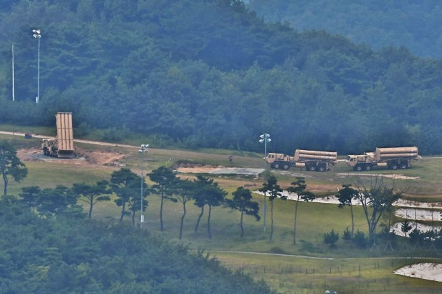 The base for the U.S. anti-ballistic missile defense system THAAD (Terminal High Altitude Area Defense) is undergoing renovation for U.S. and South Korean soldier housing. File Photo by Keizo Mori/UPI