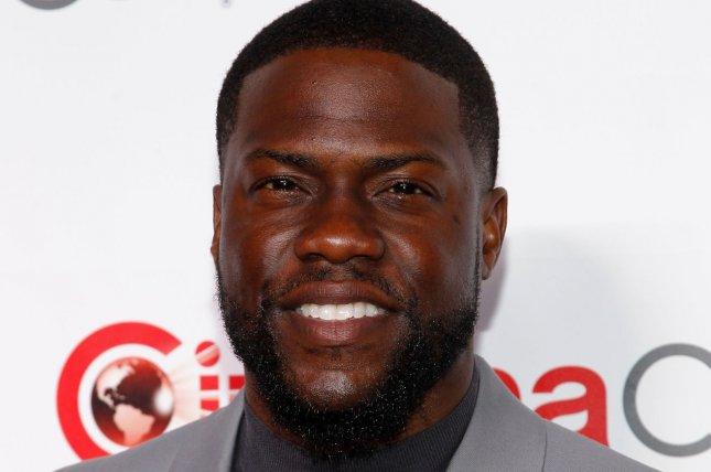 Comedian and actor Kevin Hart reportedly was injured in a car crash on Sunday. File Photo by James Atoa/UPI