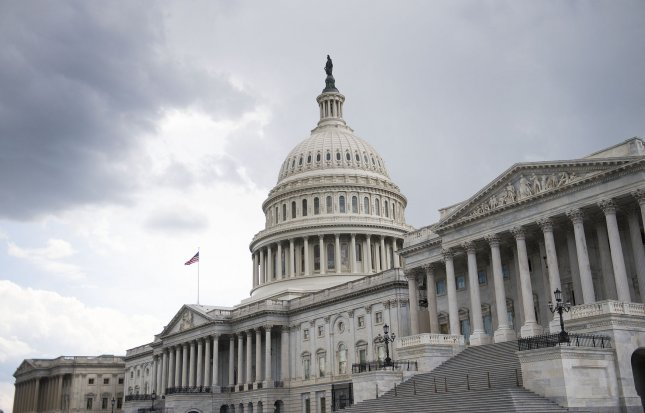 The House passed a short-term spending bill on Thursday, funding the government through November. File Photo by Kevin Dietsch/UPI