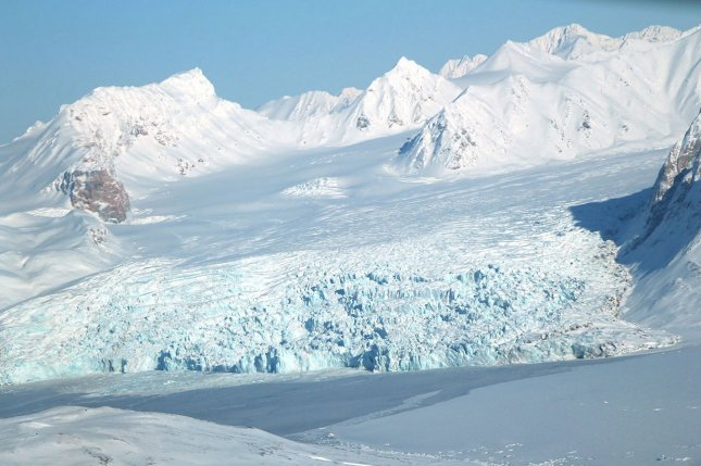 Extremely low winter temperatures in the atmosphere over the arctic are becoming more frequent and more extreme due to global warming, a new study has found. File Photo by NASA/UPI