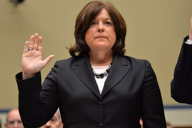 Julia Pierson, Director of the Unites States Secret Service, is sworn in before testifying during a House Oversight and Government Reform Committee hearing on the Secret Service and the recent security breach, on Capitol Hill in Washington, D.C. on September 30, 2014. (UPI/Kevin Dietsch