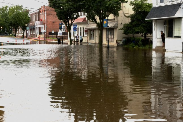 In 20 years, the Union of Concerned Scientists warn, tidal flooding will be more than just a nuisance. (File/UPI/John Anderson)