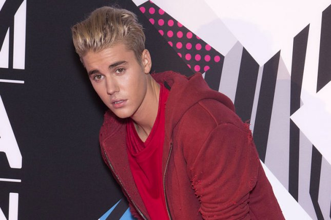 Justin Bieber, seen here at the MTV Europe Music Awards in Milan, Italy on Oct. 25, has revealed the track list to his upcoming record 'Purpose' via a series of commissioned street art. Photo by David Silpa/UPI