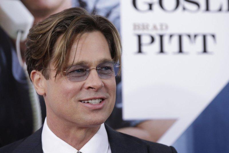Brad Pitt at the New York premiere of 'The Big Short' on November 23. Photo by John Angelillo/UPI