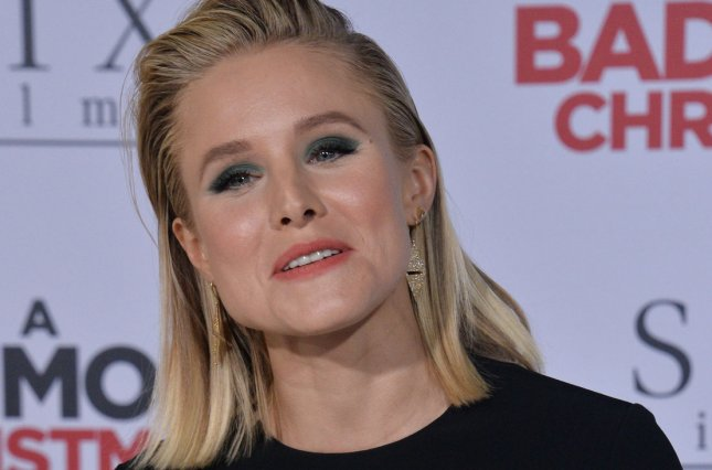 Kristen Bell is to host an ABC special reuniting the stars of a high-school musical 20 years after their original production. File Photo by Jim Ruymen/UPI
