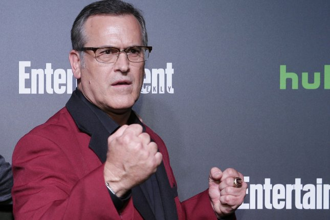 Bruce Campbell can be seen in a new trailer for Ash vs. Evil Dead Season 3. File Photo by John Angelillo/UPI