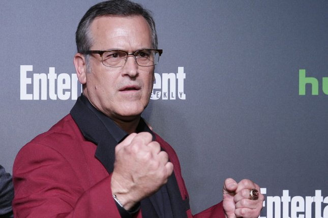 Bruce Campbell's horror comedy Ash vs. Evil Dead has been canceled after three seasons. File Photo by John Angelillo/UPI