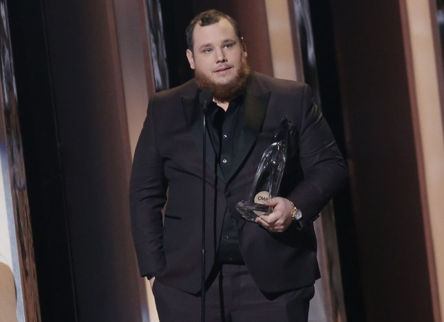 Luke Combs dominated the 54th annual Country Music Association Awards after coming into the night with six nominations. File Photo by John Angelillo/UPI