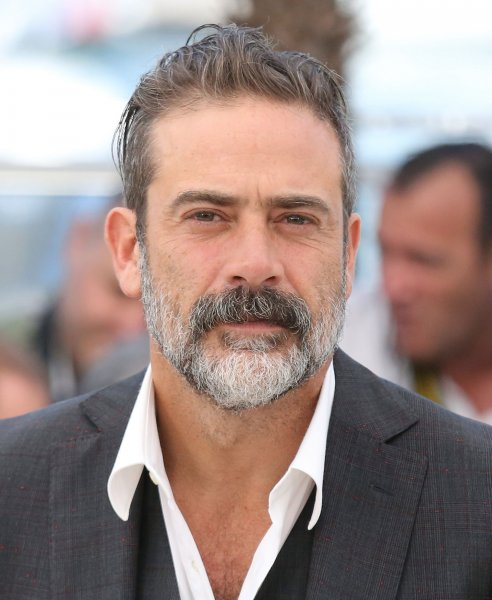 Jeffrey Dean Morgan arrives at a photo call for the film The Salvation during the 67th annual Cannes International Film Festival in France on May 17, 2014. He has been promoted to series regular for Season 7 of The Walking Dead. File Photo by David Silpa/UPI
