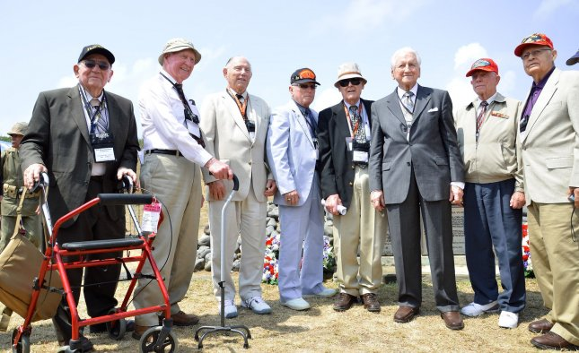 In the heat of World War II, men who experienced intense combat were more than twice as likely to turn to prayer as those who did not. U.S. retired soldiers attend the Battle of Iwo Jima 68th Anniversary commemoration at iwo Jima. UPI/keizo Mori