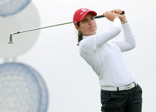 Lorena Ochoa, shown in a 2008 file photo, has been removed from the women's world golf rankings, allowing many golfers to move up in the rankings. She asked to be taken off when she retired as a touring professional. (UPI Photo/Christine Chew)