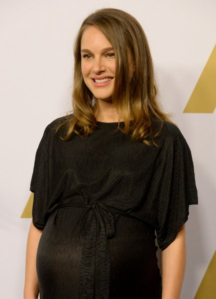Actress Natalie Portman attends the 89th annual Academy Awards Oscar nominees luncheon at the Beverly Hilton Hotel in Beverly Hills on February 6. Portman will not be attending Sunday's Oscars ceremony, due to her advanced pregnancy. Photo by Jim Ruymen/UPI