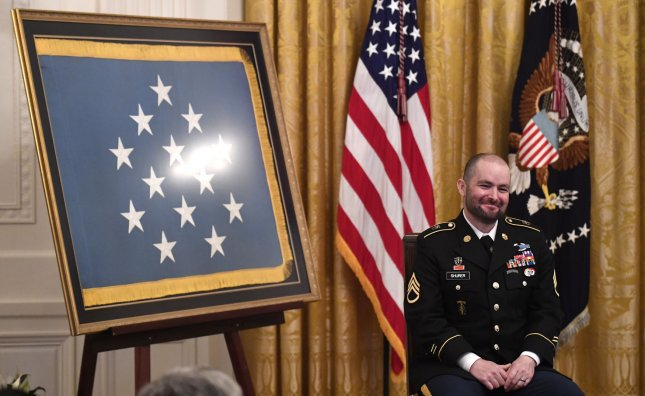 Donald Trump awards Medal of Honor to Staff Sgt  Ronald J