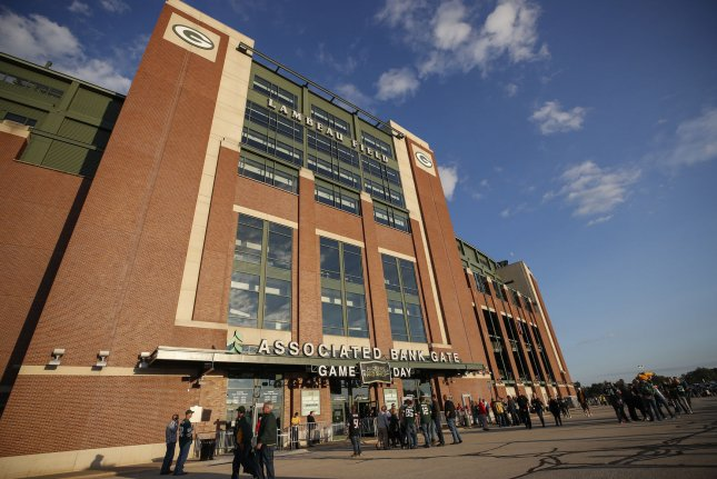 The Green Bay Packers have a streak of 350 consecutive regular-season sellouts at Lambeau Field. The team's first potential home game with fans in attendance is now Nov. 1 against the Minnesota Vikings. File Photo by Kamil Krzaczynski/UPI