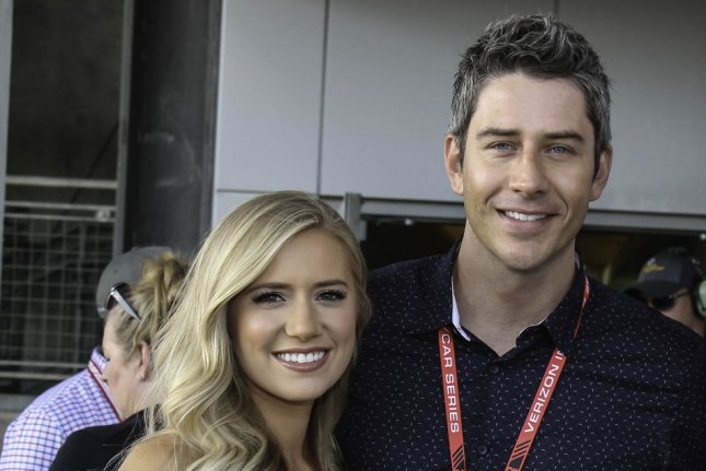 Arie Luyendyk, Jr., and Lauren Burnham said their unborn twins are a boy and girl. File Photo by Mike Gentry/UPI