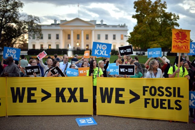 TC Energy announced Wednesday that it will terminate the Keystone XL pipeline project after President Joe Biden revoked its permit earlier this year. FilePhoto by Kevin Dietsch/UPI