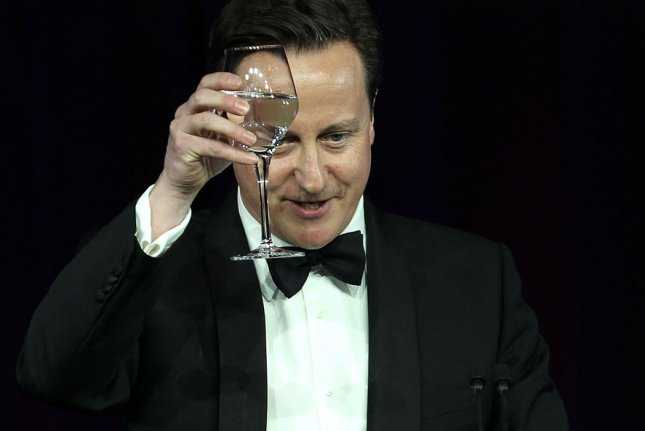 British Prime Minister David Cameron praised for moving new face to front of environmental debate. UPI/Alex Wong/Pool