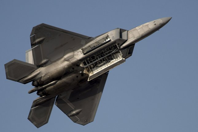China's military said its latest radar can track U.S. stealth fighters, including the F-22 Raptor. U.S. Air Force Photo by Nathan Lipscomb/UPI