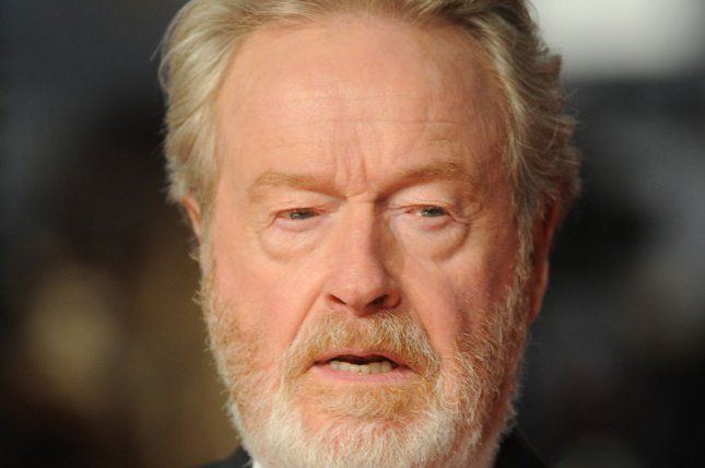 British director Sir Ridley Scott attends the EE British Academy Film Awards 2016 in London on February 14, 2016. Scott is working with TNT on a sci-fi programming block. File Photo by Paul Treadway/ UPI