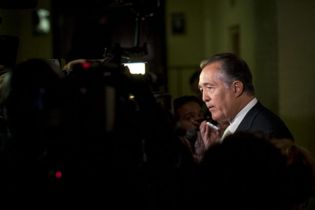Rep. Trent Franks, R-Ariz., has resigned from Congress immediately, after a House committee opened an investigation into claims of sexual harassment. File Photo by Pete Marovich/UPI