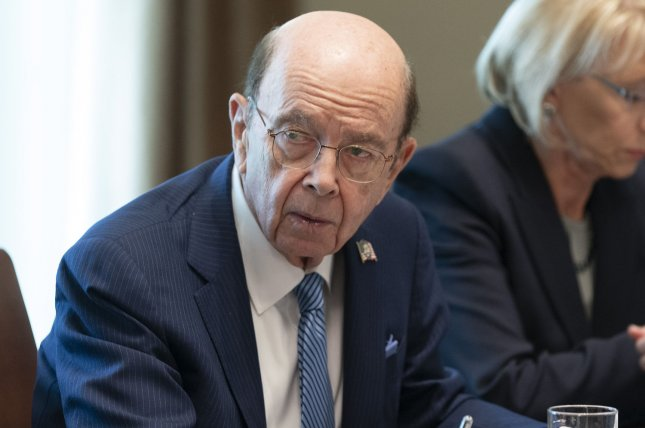 Secretary of Commerce Wilbur Ross has said the citizenship question on the 2020 census is meant to enforce the Voting Rights Act. Photo by Chris Kleponis/UPI
