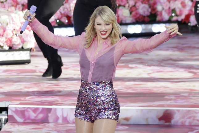 Taylor Swift thanked fans for their support over the course of her career on Twitter. File Photo by John Angelillo/UPI