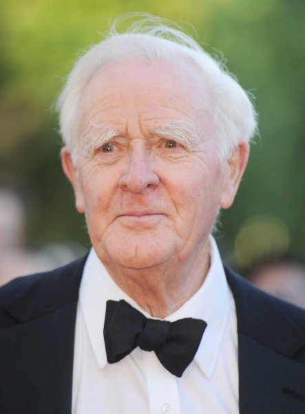 British author John Le Carre died Saturday at the age of 89 following a short battle with pneumonia. Photo by Rune Hellestad/UPI