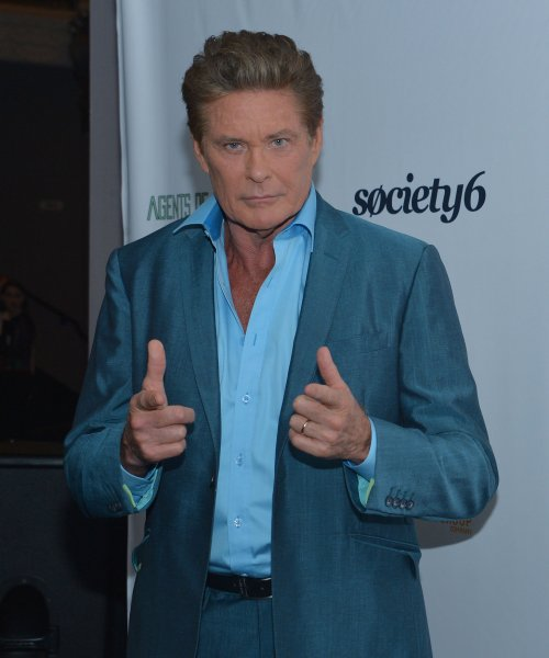 David Hasselhoff is set to star as himself in a new German television series. File Photo by Jim Ruymen/UPI