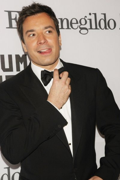 Jimmy Fallon arrives for the Museum of the Moving Image's event where actor Alec Baldwin is being honored at Cipriani on February 28, 2011 in New York City. UPI /Monika Graff