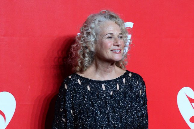 Carole King attends the MusiCares Person of the Year gala honoring the singer and songwriter at the Los Angeles Convention Center in Los Angeles on January 24, 2014. UPI/Jim Ruymen