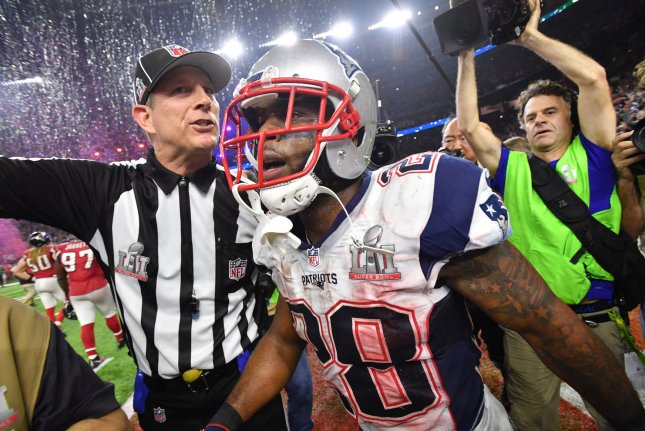 New England Patriots RB James White calls contract extension 'a surprising development'