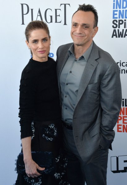 Brockmire stars Amanda Peet and Hank Azaria are returning for the fourth and final season of the baseball comedy. File Photo by Jim Ruymen/UP