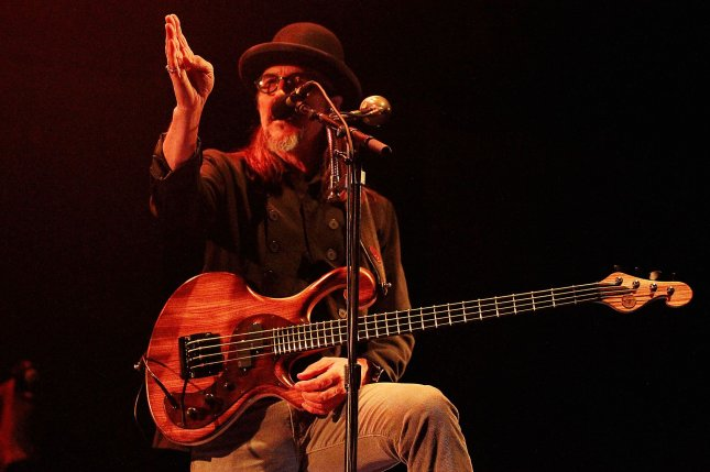 Primus will perform Rush's 1977 album A Farewell to Kings during the North American tour A Tribute to Kings. File Photo by Dave Allocca/UPI
