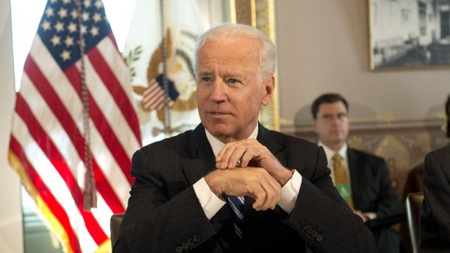 Vice President Joe Biden meets with sportsmen and women and wildlife interest groups as part of the Obama Administration's efforts to develop a gun safety policy at the Eisenhower Executive Office Building in Washington on January 10, 2012. UPI/Kevin Dietsch